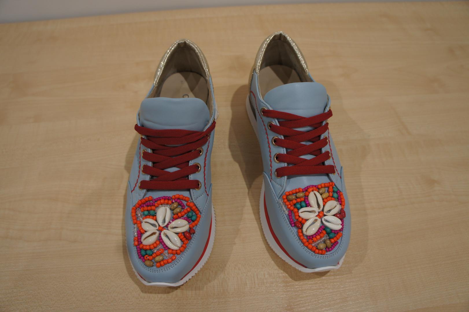 Женская обувь Cabani 316 1832 08-18 голубой 36