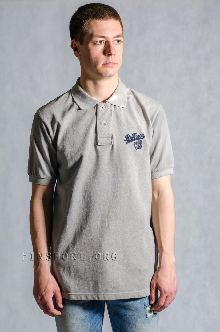 Рубашка поло Referee 086 серый L