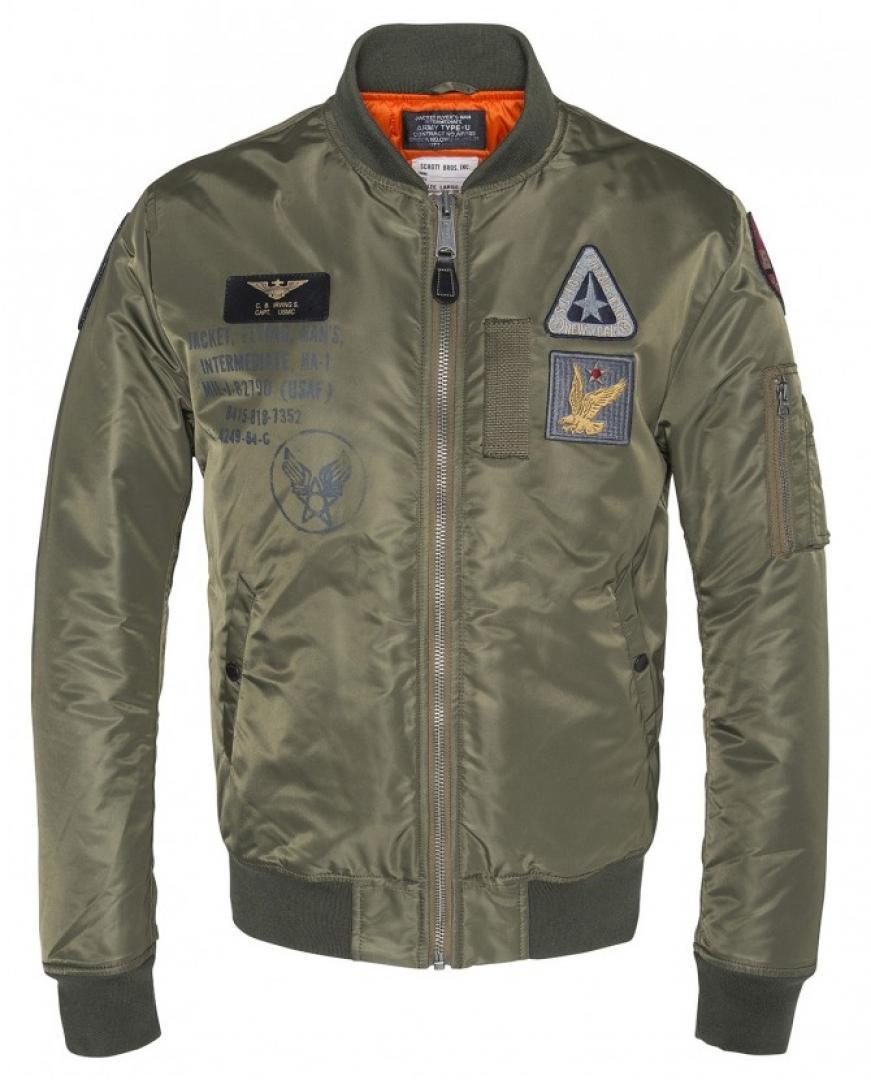 Куртка Schott Airforce 2 Хаки 2XL